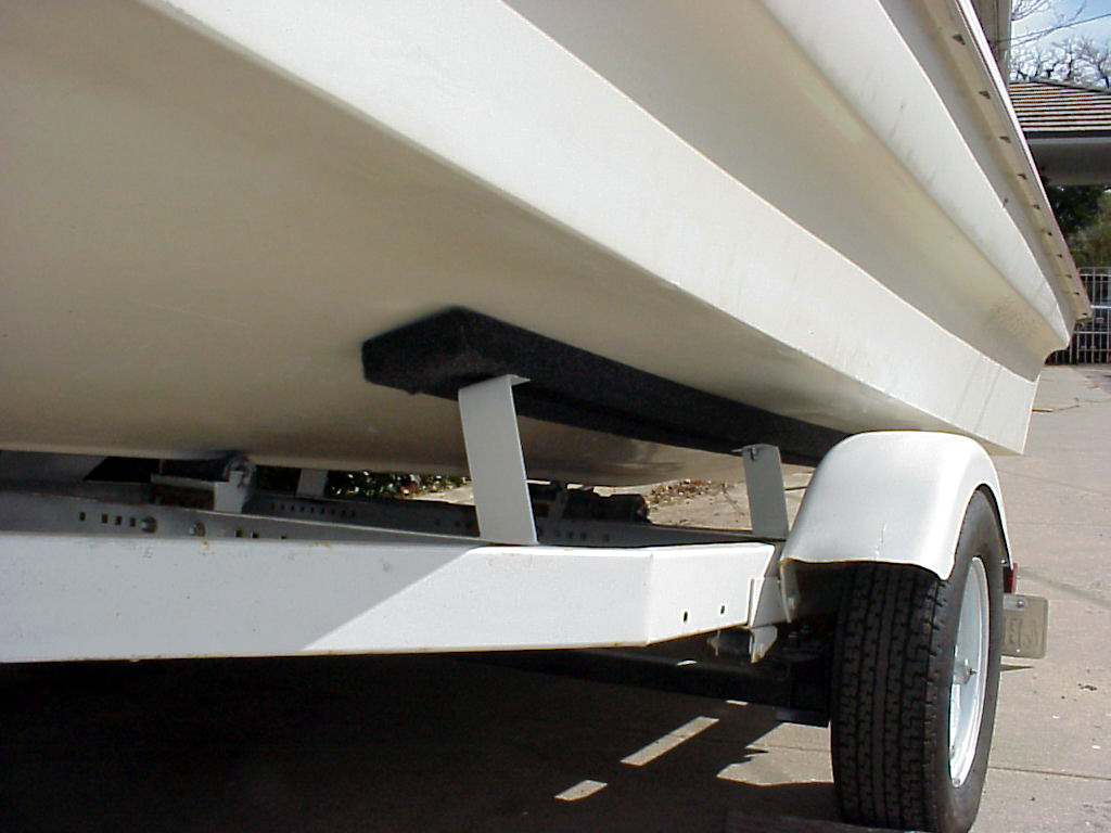 Evinrude Boats 1967 Little Dude Trailer 2004 Lee K Shuster Boat Flat 4 Wiring Harness New Lights And Detachable Car To Four Click On All Images Zoom